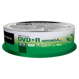 Sony DVD+R Recordable DVD Media - 25