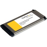 StarTech.com 1 Port Flush Mount ExpressCard SuperSpeed USB 3.0 Card Adapter with UASP Support - ExpressCard/34 - Plug (ECUSB3S11)