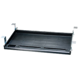 Aidata STANDARD UNDER DESK KEYBOARD TRAY BLACK VIA ERGOGUYS