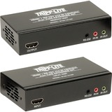 Tripp Lite HDMI with Serial and IR Over Cat5 / Cat6 Extender Kit, Extended Range Transmitter and Receiver - 3840 x 2160 4Kx2K UHD 1080p up to 60Hz