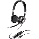 Plantronics Blackwire C520 Headset - Stereo - USB - Wired - Over-the-head - Binaural - Supra-aural - Noise Cancelling (88861-01)