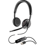 Plantronics Blackwire C520-M Headset - Stereo - USB - Wired - 20 Hz - 20 kHz - Over-the-head - Binaural - Supra-aural (88861-02)