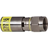 Klein Tools Universal F Compression Connector for RG6/6Q (50-Pack)-VDV812-612