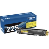 Brother Genuine TN225Y High Yield Yellow Toner Cartridge - Laser - High Yield - 2200 Pages - Yellow - 1 Each (TN225Y)