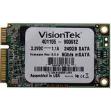 Visiontek 240 GB Internal Solid State Drive - mini-SATA - 540 MB/s Maximum Read Transfer Rate - 425 MB/s Maximum Write Transfer Rate - Plug-in Module