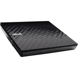 Asus SDRW-08D2S-U External DVD-Writer - Retail Pack - for PC, Mac and Laptop - DVD-RAM/±R/±RW Support - 24x (SDRW-08D2S-U/BLK/G/A)
