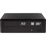 Buffalo MediaStation 16x Desktop BDXL Blu-Ray Writer (BRXL-16U3) - Blu-ray, DVD & CD - Video Upscaling - CyberLink Me (BRXL-16U3)