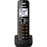 "Panasonic DECT 6.0 Plus Accessory Handset - Cordless - 1.8"" Screen Size - Black"