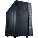 Cooler Master N200 System Cabinet - Mini-tower - Midnight Black - Steel, Plastic - 6 x Bay - 2 x Fan(s) Installed - M (NSE-200-KKN1)