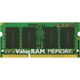 Kingston ValueRAM 8GB DDR3 SDRAM Memory Module - 8 GB (1 x 8 GB) - DDR3 SDRAM - 1600 MHz DDR3-1600/PC3-12800 - 1.35 V (KVR16LS11/8)
