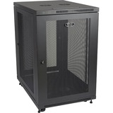 Tripp Lite 18U Rack Enclosure Server Cabinet 33IN Deep w/ Doors & Sides - 19IN 18U Wide - Black - 1000 lb x Dynamic/R (SR18UB)