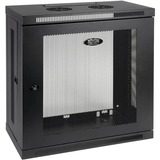 Tripp Lite 12U Wall Mount Rack Enclosure Server Cabinet Wallmount 13IN Depth - 12U Wide Wall Mountable - Black - 200 (SRW12U13)