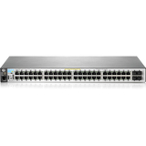 HPE 2530-48-PoE+ Ethernet Switch - 48 Network, 2 Expansion Slot, 2 Uplink - Manageable - Twisted Pair - 2 Layer Suppo (J9778A#ABA)