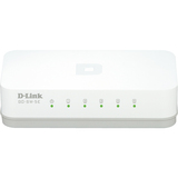 D-Link GO-SW-5E 5-Port 10/100 Unmanaged Desktop Switch - 5 Network - Twisted Pair - 2 Layer Supported - Desktop - 3 Y (GO-SW-5E)
