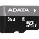 Adata 8GB Premier microSD High Capacity (microSDHC) Card - Class 10/UHS-I