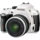 Pentax K-50 16.3 Megapixel Digital SLR Camera (Body with Lens Kit) - 18 mm - 55 mm - White | SDC-Photo