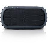 Grace Digital ECOROX GDI-EGRX601 Speaker System - Battery Rechargeable - Wireless Speaker(s) - Black - 33 ft - Bluetooth - USB