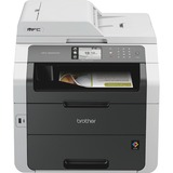Brother MFC-9340CDW LED Multifunction Printer - Color - Duplex - Copier/Fax/Printer/Scanner - 22 ppm Mono/22 ppm Colo (MFC9340CDW)