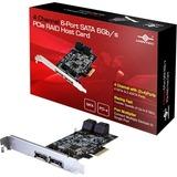 Vantec 4 Channel 6-Port SATA 6Gb/s PCIe RAID Host Card