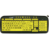 EZSee Wireless USB Large Print Keyboard