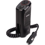 CyberPower CPS150CHURC1 Mobile Power Inverter 150W with 2.1A USB Charger and Cup Design - Input Voltage: 12 V DC - Output Voltage: 120 V AC - Continuous Power: 150 W