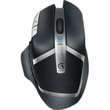 Logitech G602 Wireless Gaming Mouse - Optical - Wireless - Radio Frequency - Black - USB 2.0 - 2500 dpi - Scroll Whee (910-003820)