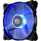 Cooler Master JetFlo 120 - POM Bearing 120mm Blue LED High Performance Silent Fan for Computer Cases, CPU Coolers, an (R4-JFDP-20PB-R1)