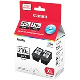 Canon PG-210 XL Original Ink Cartridge - Black - Inkjet - 2 / Pack (2973B020)