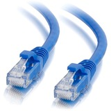 C2G 7ft Cat6a Snagless Unshielded (UTP) Network Patch Cable - Blue