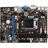 MSI H81M-P33 Desktop Motherboard - Intel H81 Chipset - Socket H3 LGA-1150