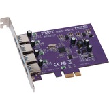 Sonnet ALLEGRO USB 3.0 PCIe (4 ports) - PCI Express - Plug-in Card - 4 USB Port(s) - 4 USB 3.0 Port(s) (USB3-4PM-E)