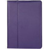 Cyber Acoustics Purple Leather iPad Air Cover Case