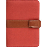 Aluratek Universal Folio Travel Case for 7 Inch Tablets - Red