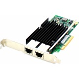 AddOn Intel X540T2 Comparable 10Gbs Dual Open RJ-45 Port 100m PCIe x8 Network Interface Card - 100% compatible and gu (X540T2-AOK)