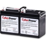CyberPower RB1270X2A UPS Replacement Battery Cartridge 12V 7AH - 7000 mAh - 12 V DC - Sealed Lead Acid (SLA) - Spill- (RB1270X2A)