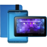 """Visual Land Prestige 7G 8 GB Tablet - 7"""" - Wireless LAN - ARM Cortex A8 1.20 GHz - Blue - 512 MB RAM - Android 4.1 Jelly Bean - Slate - 800 x 480 4:3 Display - Front Camera/Webcam"""