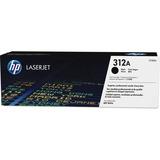 HP 312A Original Toner Cartridge - Single Pack - Laser - 2400 Pages - Black - 1 Each (CF380A)