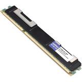 AddOn HP 713983-B21 Compatible Factory Original 8GB DDR3-1600MHz Registered ECC Dual Rank x4 1.35V 240-pin CL11 RDIMM (713983-B21-AMK)