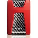 Adata DashDrive HD650 1 TB External Hard Drive - SATA - Portable - USB 3.0 - 5400rpm - Red - 1 Pack (AHD650-1TU3-CRD)