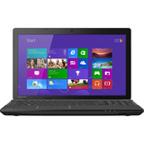 "Toshiba Satellite C55D-A5146 15.6"" LED (TruBrite) Notebook - AMD A-Series A4-5000 1.50 GHz - Satin Black in Trax Horizon 