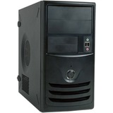 """In Win Z589 Mini Tower Chassis - Mini-tower - Black - Steel - 6 x Bay - 1 x 350 W - Power Supply Installed - Micro ATX, Mini ITX Motherboard Supported - 1 x Fan(s) Supported - 2 x External 5.25"""" Bay - 2 x External 3.5"""" Bay - 1 x Internal 3.5"""" Bay - 1"""