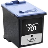 Clover Technologies Black Ink Cartridge for HP CCC635A (HP 701)