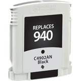 Clover Technologies Black Ink Cartridge with Ink Monitoring Technology for HP C4902AN (HP 940)