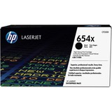 HP 654X Original Toner Cartridge - Single Pack - Laser - High Yield - 19500 Pages - Black - 1 Each (CF330X)
