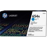 HP 654A Original Toner Cartridge - Single Pack - Laser - 15000 Pages - Cyan - 1 Each (CF331A)