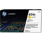 HP 654A Original Toner Cartridge - Single Pack - Laser - 15000 Pages - Yellow - 1 Each (CF332A)