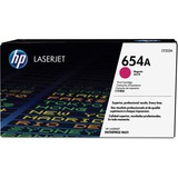 HP 654A Original Toner Cartridge - Single Pack - Laser - 15000 Pages - Magenta - 1 Each (CF333A)