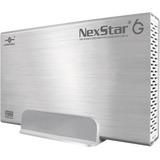 Vantec NexStar 6G NST-366S3-SV Drive Enclosure External - Silver - 1 x Total Bay - 1 x 3.5IN Bay - USB 3.0 (NST-366S3-SV)