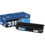 Brother Genuine TN331C Cyan Toner Cartridge - Laser - Standard Yield - 1500 Pages - Cyan - 1 Each (TN331C)