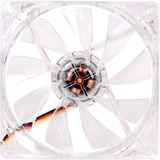 Thermaltake Pure 12 LED DC Fan- Red - 1 x 120 mm - 1000 rpm - 1 x 41 CFM - Sleeve Bearing - 3-pin (CL-F019-PL12RE-A)